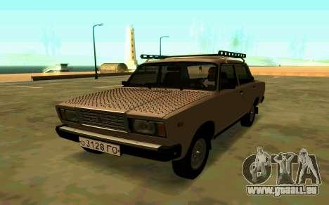 VAZ 2107 Hiver pour GTA San Andreas