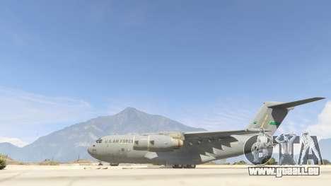 GTA 5 C-17A Globemaster III v.1.1 zweite Screenshot