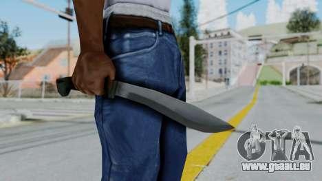 Vice City Knife pour GTA San Andreas troisième écran