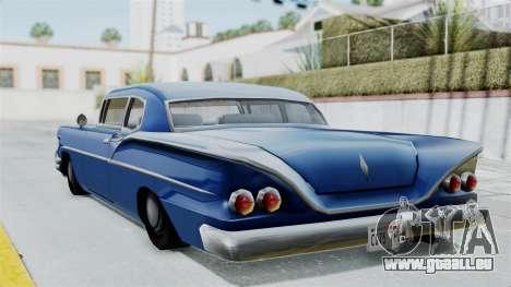Augmentée De La Tornade pour GTA San Andreas laissé vue