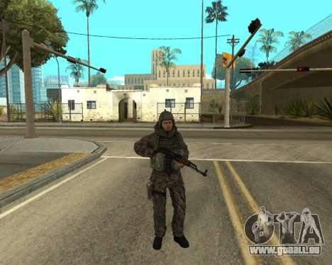 Russische Armee Skin Pack für GTA San Andreas siebten Screenshot