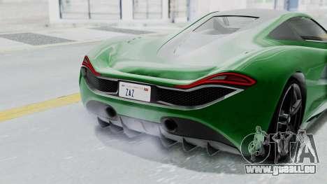 GTA 5 Progen T20 v2 IVF pour GTA San Andreas vue arrière
