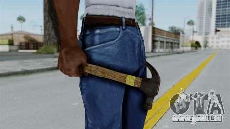 GTA 5 Hammer pour GTA San Andreas deuxième écran