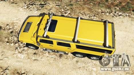 Hummer H2 6x6 v2.0 für GTA 5