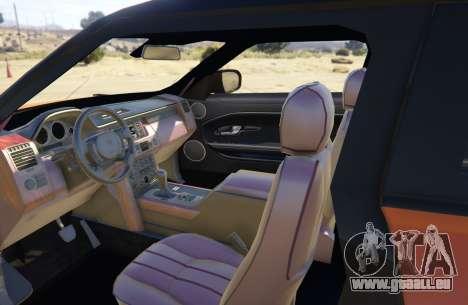 GTA 5 Range Rover Evoque 3.0 hinten rechts