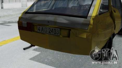 Dacia 1325 Liberta Rusty für GTA San Andreas rechten Ansicht