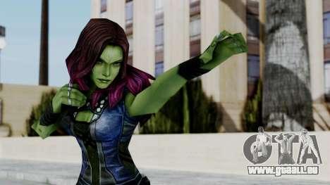 Marvel Future Fight - Gamora pour GTA San Andreas