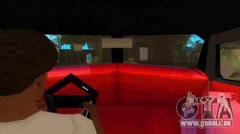 GTA LCS Thunder-Rodd pour GTA San Andreas vue intérieure