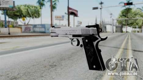 For-h Gangsta13 Pistol pour GTA San Andreas deuxième écran