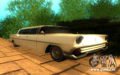 Tornado Limousine für GTA San Andreas