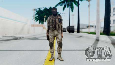 Crysis 2 US Soldier 8 Bodygroup A für GTA San Andreas zweiten Screenshot