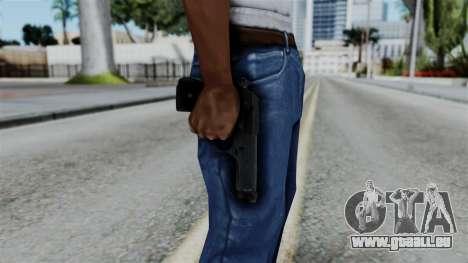 No More Room in Hell - Beretta 92FS pour GTA San Andreas troisième écran
