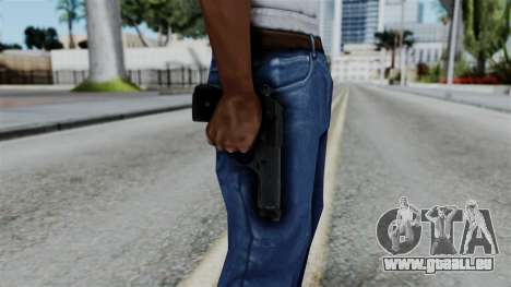 No More Room in Hell - Beretta 92FS für GTA San Andreas dritten Screenshot