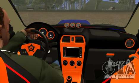 Subaru Impreza WRX STI Lisa pour GTA San Andreas vue intérieure