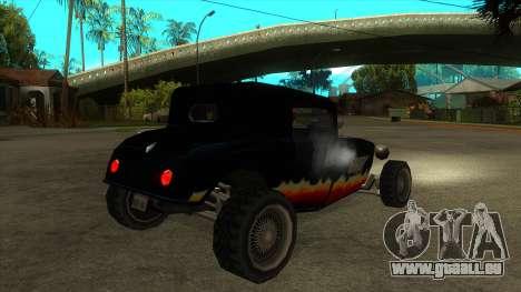 Diablos Hotknife pour GTA San Andreas vue de droite