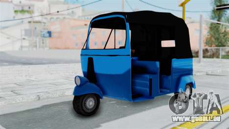 Sri Lanka Three Wheeler (Rickshow) pour GTA San Andreas
