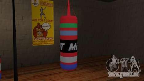New Punching Bag pour GTA San Andreas deuxième écran