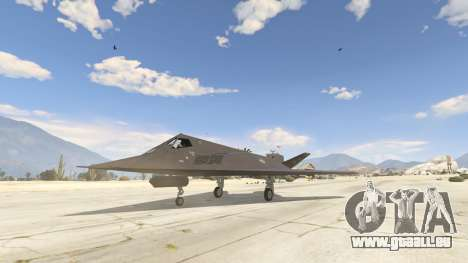 GTA 5 Lockheed F-117 Nighthawk Black 2.0