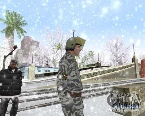 Les OMON pour GTA San Andreas troisième écran