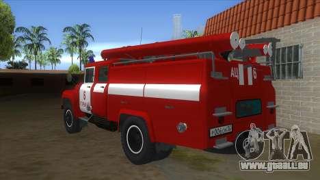 ZIL 130 AC-40 für GTA San Andreas zurück linke Ansicht