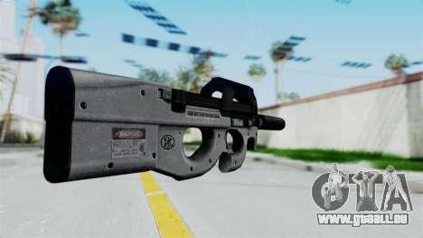 P90 Grey pour GTA San Andreas deuxième écran
