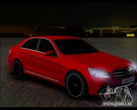 Mercedes-Benz E63 AMG für GTA San Andreas