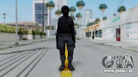 S.W.A.T v2 pour GTA San Andreas deuxième écran
