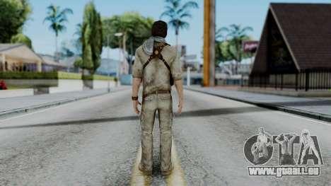 Uncharted 3 - Nathan Drake Desert Outfit pour GTA San Andreas troisième écran