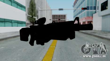 Kusanagi ACR-10 Assault Rifle für GTA San Andreas zweiten Screenshot