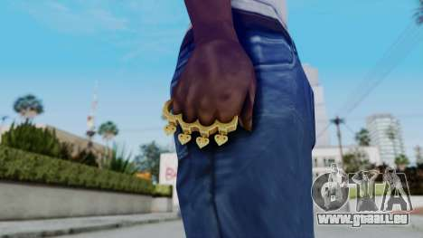 The Player Knuckle Dusters from Ill GG Part 2 für GTA San Andreas dritten Screenshot