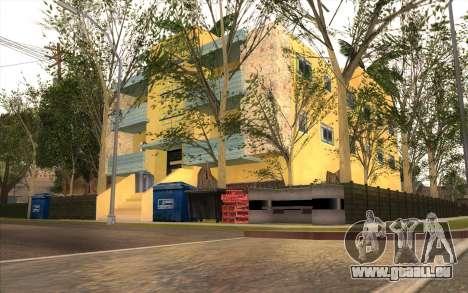 Des travaux de réparation sur Grove Street pour GTA San Andreas septième écran