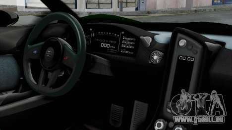 GTA 5 Progen T20 v2 IVF pour GTA San Andreas vue de droite