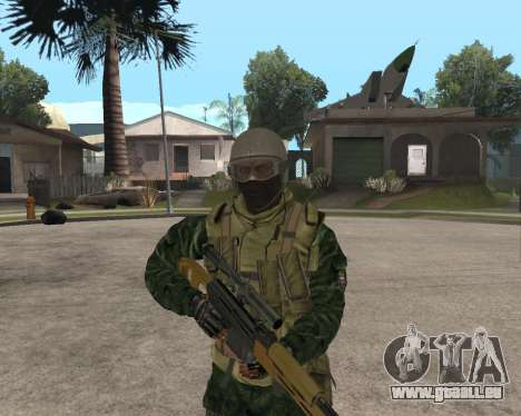Russische Armee Skin Pack für GTA San Andreas her Screenshot