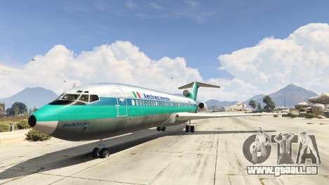 Boeing 727-200 pour GTA 5