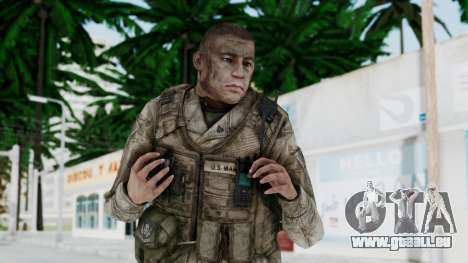 Crysis 2 US Soldier 6 Bodygroup A pour GTA San Andreas