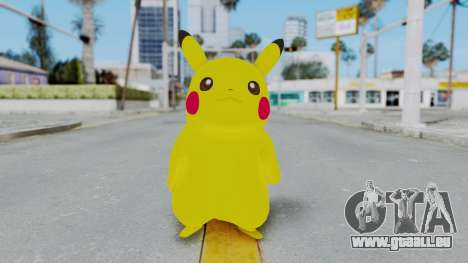 Dancing Pokemon Band - Pikachu pour GTA San Andreas deuxième écran