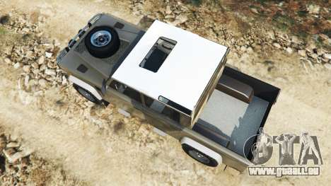 Land Rover Defender 110 Pickup pour GTA 5