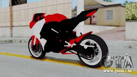 Yamaha YZF-R25 YoungMachine Concept für GTA San Andreas linke Ansicht