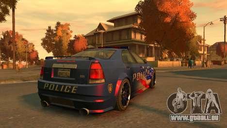 Albany Police Stinger für GTA 4 hinten links Ansicht