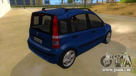 Fiat Panda V3 für GTA San Andreas rechten Ansicht