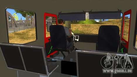 Roman 8135 FA für GTA San Andreas Seitenansicht