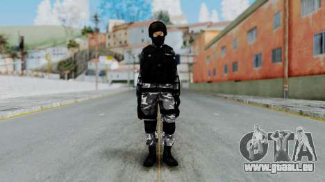 S.W.A.T v4 pour GTA San Andreas deuxième écran