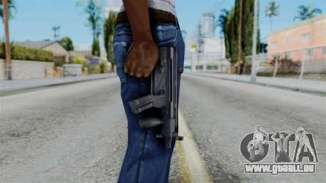 Vice City Beta MP5-K pour GTA San Andreas troisième écran