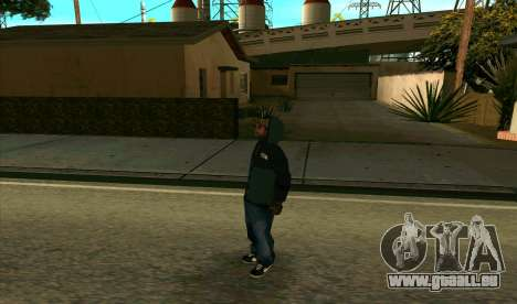 BALLAS1 pour GTA San Andreas deuxième écran