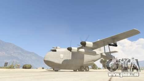 GTA 5 Amphibious Plane