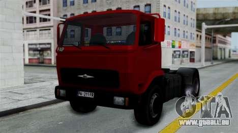 FAP Kamion Stock pour GTA San Andreas