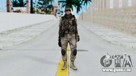 Crysis 2 US Soldier 2 Bodygroup B pour GTA San Andreas deuxième écran