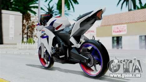 Honda CB150R für GTA San Andreas linke Ansicht