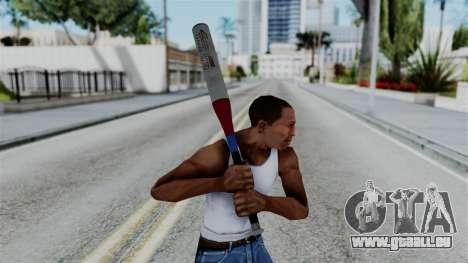 No More Room in Hell - Baseball Bat pour GTA San Andreas troisième écran
