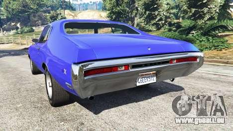 GTA 5 Buick Skylark GSX 1970 arrière vue latérale gauche